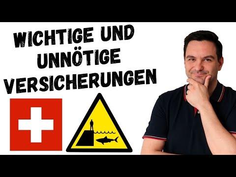 Notwendige Versicherungen für ein Leben in der Schweiz ☂️🇨🇭 | Auswanderluchs