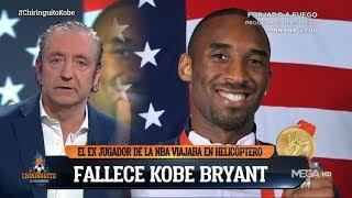 El recuerdo de Pedrerol a Kobe Bryant: