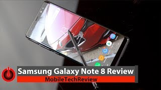 Samsung Galaxy Note 8 Review - Pro and Con