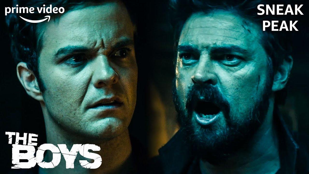 Butcher gegen Hughie | The Boys | Staffel 2 | Sneak Peak | Prime Video DE