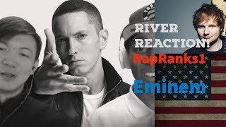 Eminem-River ft. Ed Sheeran (Reaction)