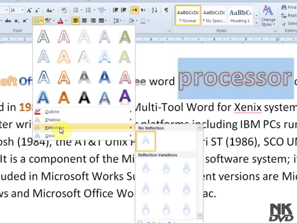 Open-close-cut-copy-paste ms-word 2007 free basic computer notes.