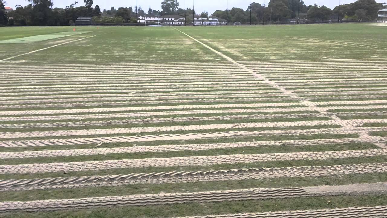 Sports Field Drainage Secondary Drainage System Youtube