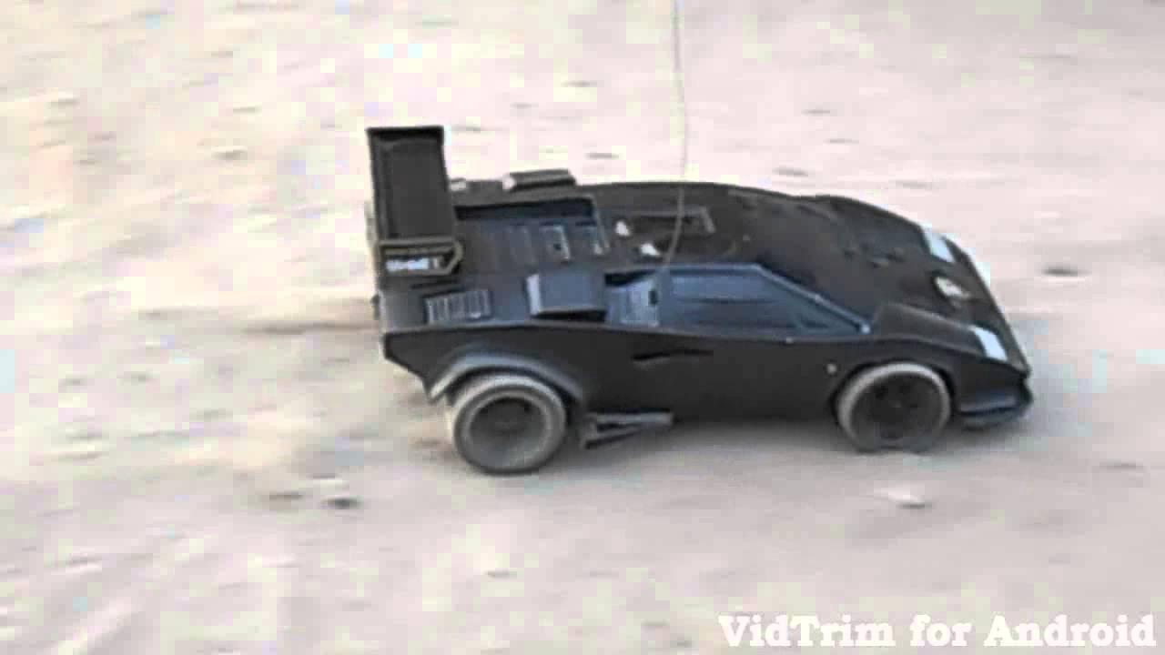 Tamiya Rc Lamborghini Countach Lp500 Youtube