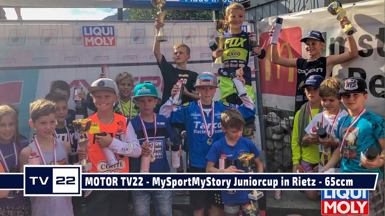 MOTOR TV22: MySportMyStory Juniorcup in Rietz - Die 65 ccm Klasse