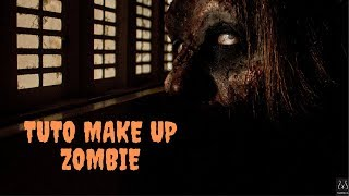 MAQUILLAGE ZOMBIE POUR HALLOWEEN 2019