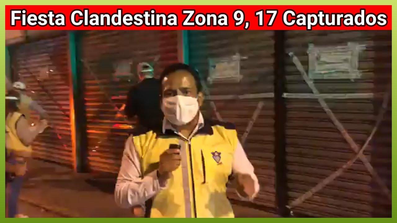 👙 💃 17 capturados por realizar fiesta clandestina en  supuesta Casa Cerrada