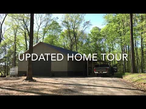 Updated Home Tour of our PoleBarn House /// Video 11