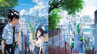 """""""Your Name"""" (Kimi no na wa) Places in real life 君の名は聖地"""