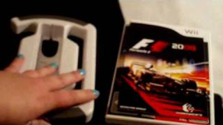 Formula 1 ( F1 ) 2009 Wii Game  Unboxing