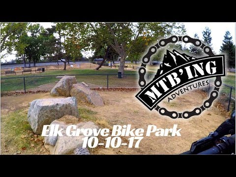 Bike park update 10-10-17 (Elk Grove, CA)