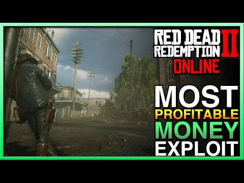 Red Dead Redemption 2 Online - BEST MONEY EXPLOIT in Red Dead Online! Easy Money in RDR2 Online!