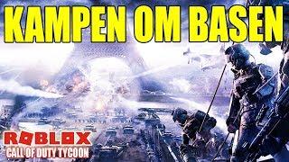 KAMPEN OM BASEN - CALL OF DUTY TYCOON - DANSK ROBLOX - [#1]
