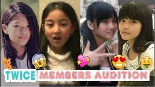 TWICE Members First Audition (Pre-Debut)