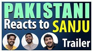 Pakistani Reacts To   Sanju   Official Trailer   Ranbir Kapoor   Rajkumar Hirani