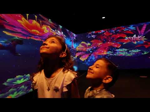 Interactive room for kids at ToDA, Dubai