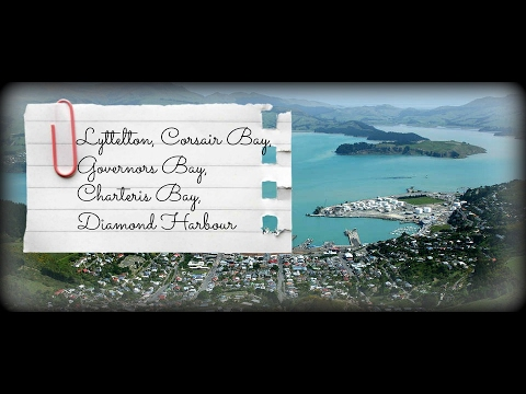 Lyttelton, Corsair Bay, Governors Bay, Charteris Bay, Diamond Harbour - New Zealand Road Trip 2017