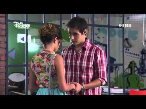 Violetta 2 - Violetta träumt von Leon, wodurch der Song Como quieres entsteht (Folge 34) Deutsch