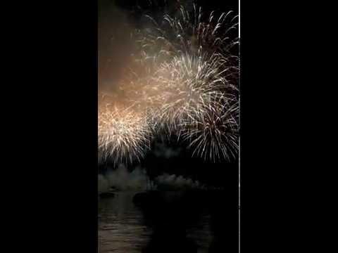 Zurich Festival fireworks 2016