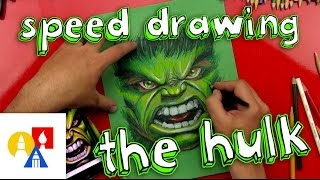 The Hulk Speed Drawing