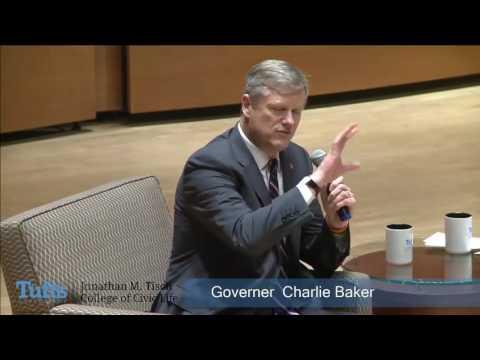 Tisch College Distinguished Speaker Series: Governor Charlie Baker