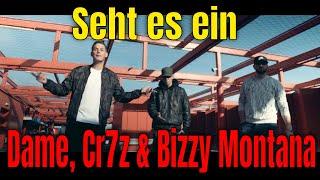 Dame, Cr7z & Bizzy Montana - Seht Es Ein I REACTION/ONE.TAKE.ANALYSE