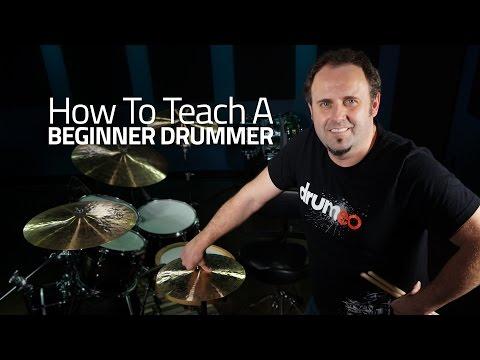 How To Teach Beginner Drummer