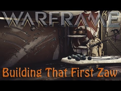 Warframe - Building That First Zaw (Infested Ofcorse)