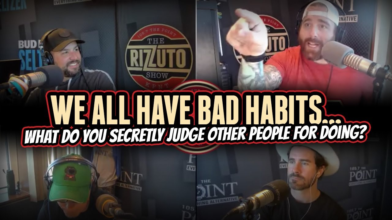 What things do you secretly JUDGE people for doing? [Rizzuto Show]