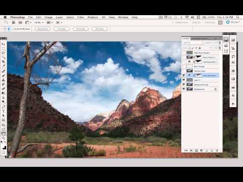 Landscape Photography Editing and Enhancements with Adobe Photoshop, Part 1