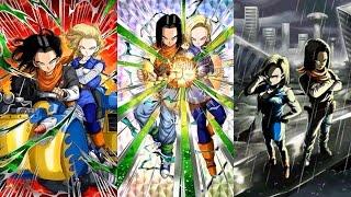 Dragonball Z Dokkan Battle: LR Android 17&18 Dokkan Awakening and Super Super Attack