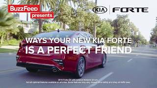 5 Ways Your New Kia Forte is the Perfect Friend | 2019 Kia Forte