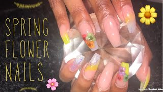 Acrylic Nails For Beginners | Spring Nails
