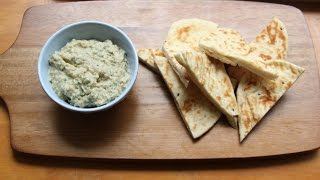 Baba Ganoush, Roasted Aubergine Dip | By April Partridge | Grub Garden
