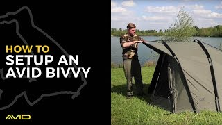 AVID CARP- How to set up an Avid Bivvy