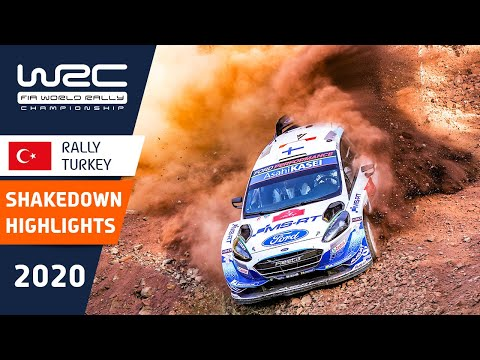 WRC - Rally Turkey 2020: Shakedown Highlights