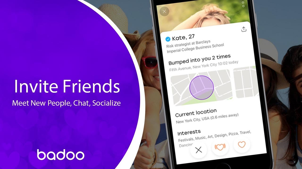 Badoo find friends