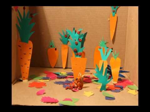 В сладком морковном лесу. По сказке Сергея Козлова