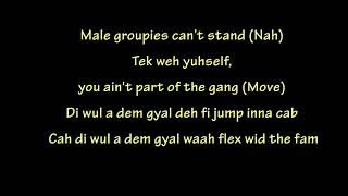 Chip - My Girl Remix ft Stefflon Don, Alkaline, Red Rat (lyrics)