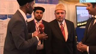 Interview Press Desk Human Rights Exhibition and Alislam
