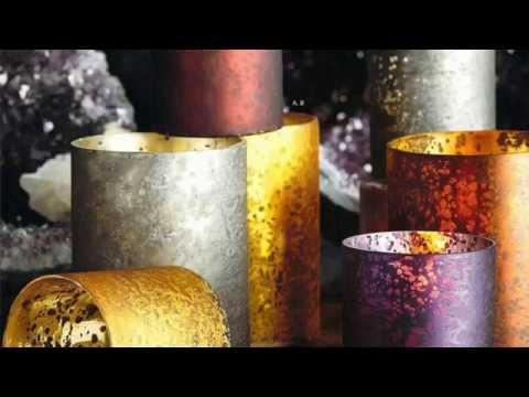Roost Element Votive Candle Holders - Jewel Tones