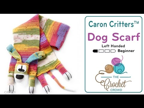 How To Crochet A Dog Scarf Youtube