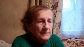 Vídmont (near Vórne): Feyge-Leye, a Holocaust-era convert to Christianity (25 Nov 2011).wmv