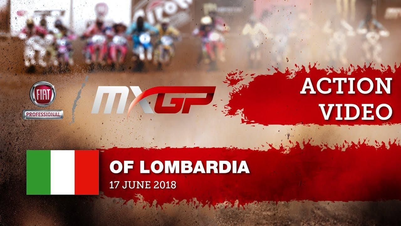 Shaun Simpson crash race 2 - Fiat Professional MXGP of Lombardia