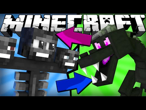 Thumbnail: If the Ender Dragon and Wither Switched Places - Minecraft