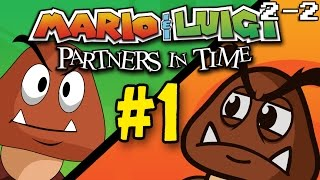Mario and Luigi: Partners in Time - The Lonely Goomba