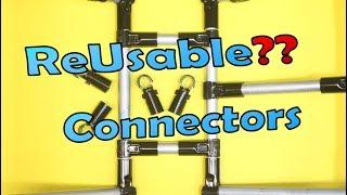 ReUsable Pipe Metal Conduit Connectors - Maker Pipe