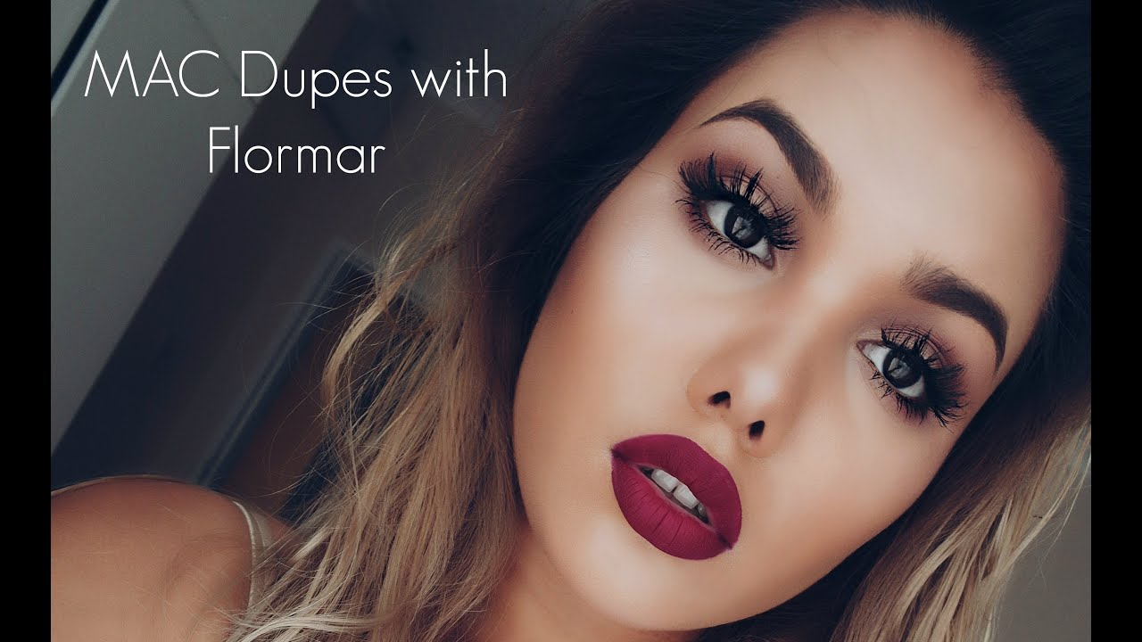 Popular MAC Lipstick Dupes with Flormar