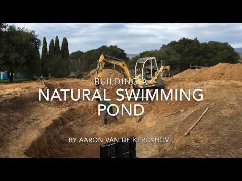 Natural Swimming Pond Start to Finish
