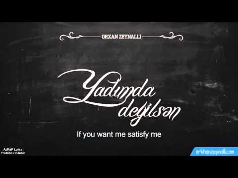 "AiD ""Orxan Zeynalli"" - Yadimda Deyilsen Lyrics"